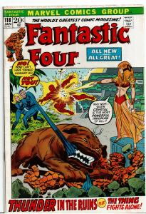 Fantastic Four #118, 3.0 or Better