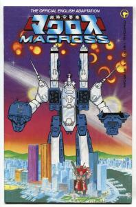 Macross #1 1st Robotech appearance Comico 1984 comic book