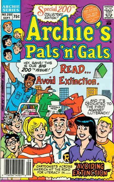 Archie's Pals 'n Gals #200 VF/NM; Archie | save on shipping - details inside