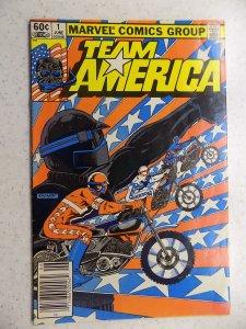 TEAM AMERICA # 1 ACTION ADVENTURE MOTORCROSS