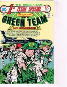 Lot of 3 Green Team DC Comic Books # 2 2 9 Super Heroes AD39