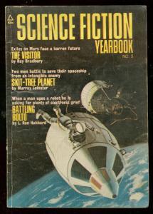 SCIENCE FICTION YEARBOOK #5 1971-HUBBARD-BRADBURY-PULP VG