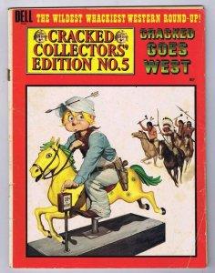 ORIGINAL Vintage 1974 Cracked Magazine Collector's Edition #5