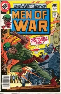 Men of War DC Comics Cover Proof #20 1979-Joe Kubert-African-American cover-G/VG