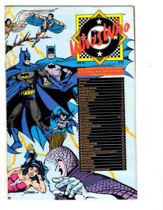 5 Who's Who DC Comic Books # 2 12 17 Update '87 # 4 Update '88 # 1 Batman CB1