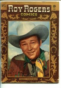 ROY ROGERS #37-1951- PHOTO COVER-KING OF THE COWBOYS-good