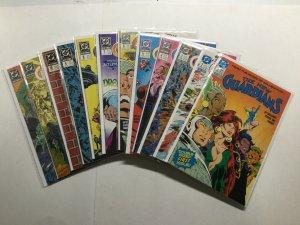 New Guardians 1-12 Lot Run Set 1988 Complete Dc Comics