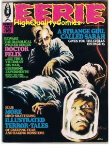 EERIE #16, VF, Warren, Craig, Toth, Vampire, Evil,1968, more mags in store