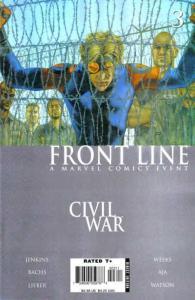Civil War: Frontline #3, VF- (Stock photo)
