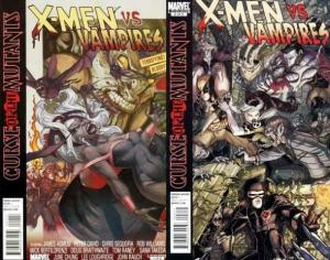 X MEN CURSE OF THE MUTANTS X-MEN VS VAMPIRES 1-2