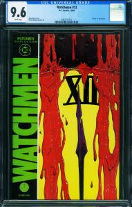 Watchmen #12 CGC 9.6 Death Of Rorschach 1987- 2001511016