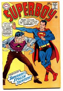 SUPERBOY #144 comic book 1968-NEAL ADAMS SILVER AGE comic book