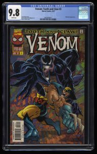 Venom: Tooth and Claw #3 CGC NM/M 9.8 White Pages