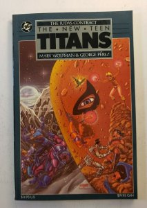 THE NEW TEEN TITANS JUDAS CONTRACT TPB SOFT COVER 1ST PRINT GRAPHIC NOVEL