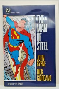 Superman The Man of Steel Trade Paperback (TPB) edition NM 1989  DC Comic