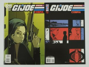 G.I. Joe: Cobra Special #1-2 VF/NM complete series - mike costa/antonio fuso set
