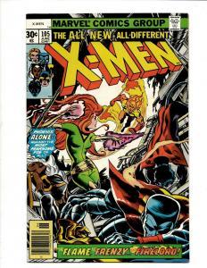 Uncanny X-Men # 105 NM Marvel Comic Book Wolverine Wendigo Storm Cyclops DS4