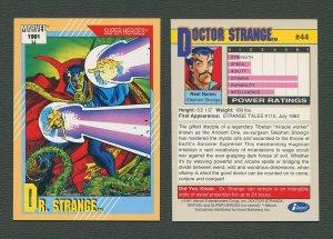 1991 Marvel Comics II  Card  #44 ( Doctor Strange )  MINT