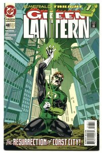 Green Lantern #48 comic book 1994 First appearance of KYLE RAYNER