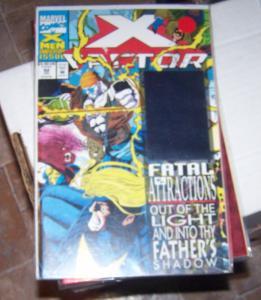 X-Factor # 92  1993 marvel HOLOGRAM COVER 1ST EXODUS KEY  powers/ house of x