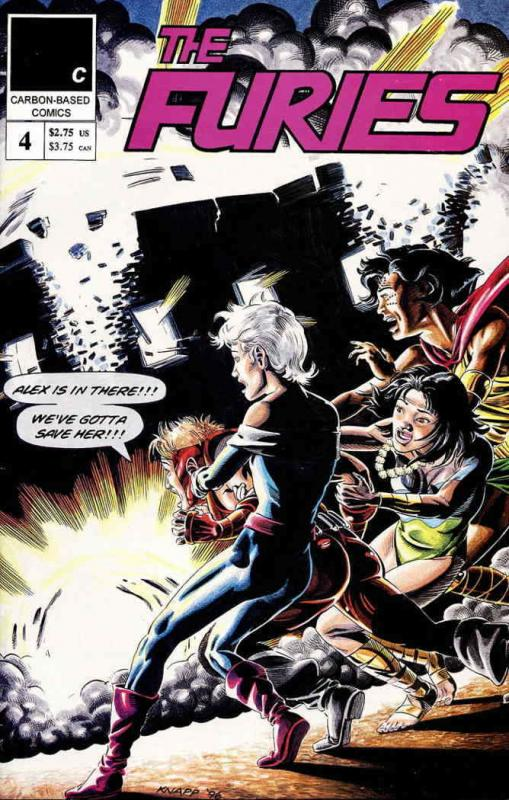 Furies, The (Carbon-Based) #4 VF/NM; Carbon-Based | save on shipping - details i