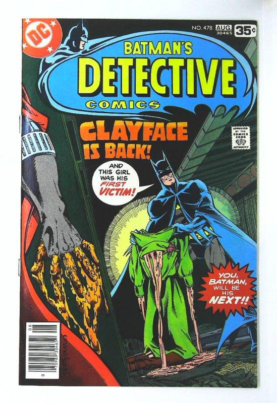 Detective Comics (1937 series) #478, VF (Actual scan)