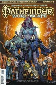 Pathfinder: Worldscape #1C VF/NM; Dynamite | save on shipping - details inside