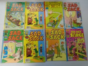 Late Bronze age Harvey Sad Sack lot 37 different issues avg 5.0 VG FN