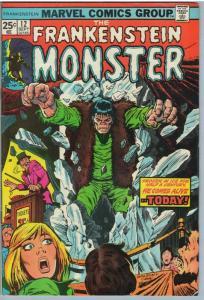 Frankenstein 12 Sep 1974 VF (8.0)
