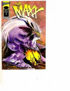 The Maxx Mini-Comic # 2 Image Wizard Promotional Small Comic Book #51 Supp. J160