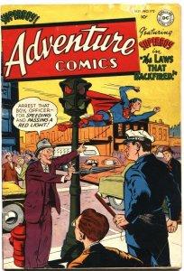 ADVENTURE #172-1952-AQUAMAN-GREEN ARROW-SUPERBOY-JOHNNY QUICK-GOLDEN AGE