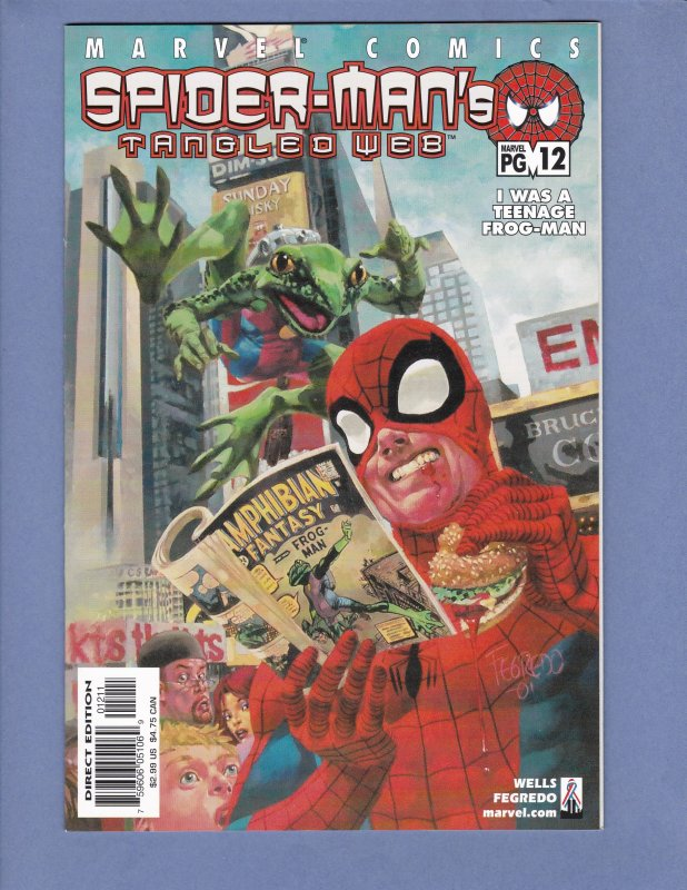 Spider-Man's Tangled Web #7-22 Lot of 16 #8 #9 #10 #12 #13 #14 #15 #17 #18 #19