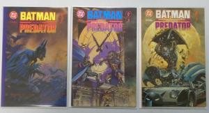 Batman vs. Predator (1st Series) Set:#1-3, 8.0/VF (1991)
