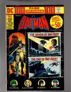 DC 100 PAGE SUPER SPECTACULAR DC-20 VERY GOOD-FINE
