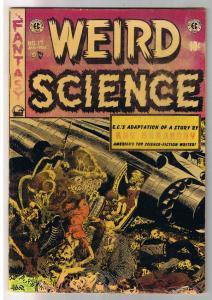 WEIRD SCIENCE #17, VG, Wally Wood, Ray Bradbury, EC,1950, Golden Age, Pre Code