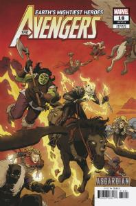 Avengers #18 Rivera Asgardian Variant (Marvel, 2019) NM