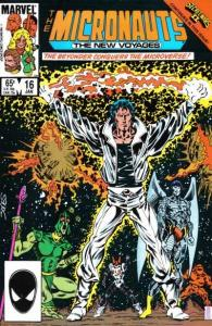 Micronauts (1984 series) #16, NM- (Stock photo)
