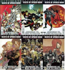 ULTIMATE AVENGERS VS NEW ULTIMATES (2011)1A-6A DEATH SP