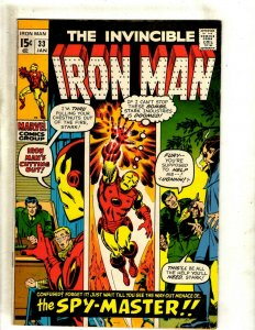 Iron Man # 33 VF/NM Marvel Comic Book Avengers Hulk Thor Captain America J462