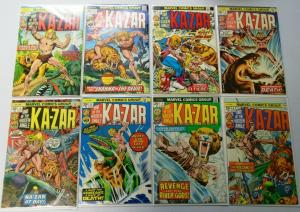 Ka-Zar (2nd Series), Set:#1-20, Average 6.0/FN (1974)