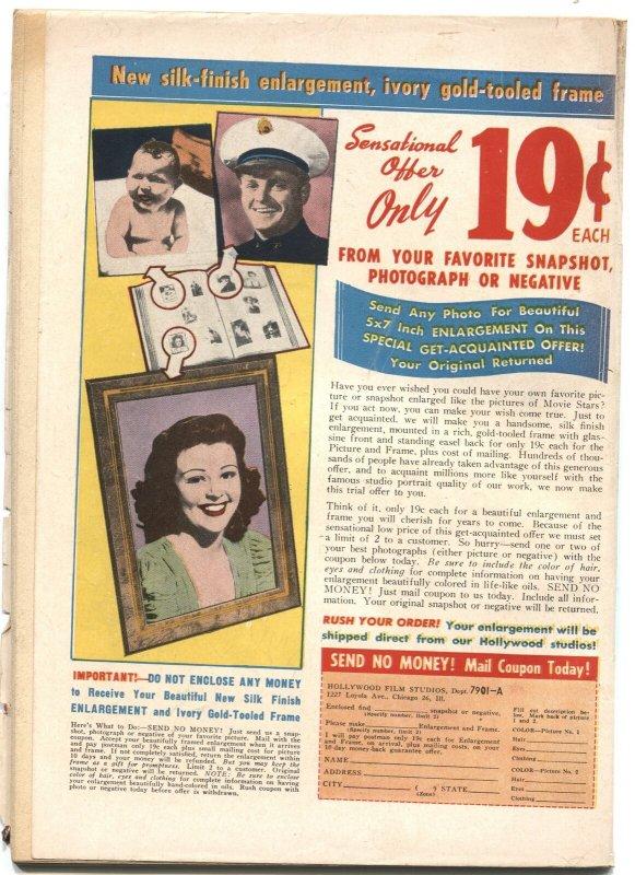 GIRLS' ROMANCES #3-1950-FERRIS WHEEL PHOTO COVER-NICE INTERIOR ART-RARE DC