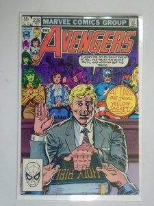 Avengers #228 Direct edition 8.0 VF (1983 1st Series)