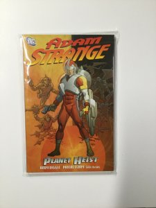 Adam Strange Planet Heist Near Mint Nm Softcover Sc Tpb Dc Comics