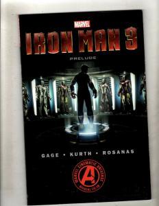 Iron Man 3 Prelude Marvel Comics Graphic Novel TPB Comic Book War Machine J352