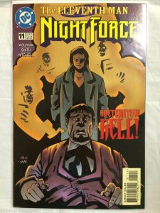 Night Force #11 Comic Book DC 1997