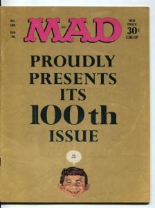 MAD Magazine #100-1966-Mingo-Drucker-Ricard-Berg-FN