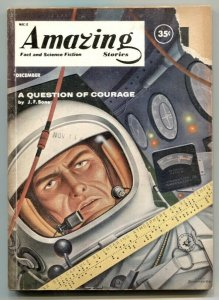Amazing Stories December 1960- Schomburg cover- JF Bone G