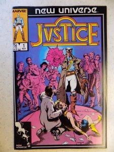 Justice #1 (1986)