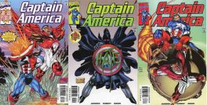 CAPTAIN AMERICA (1998) 25-27  Twisted Tomorrows COMICS BOOK
