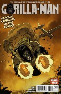 Gorilla Man #2 VF; Marvel   save on shipping - details inside